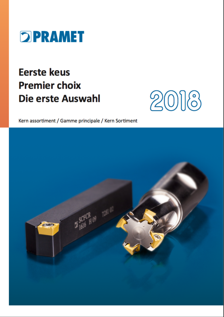 Pramet First Choice Catalogus 2018